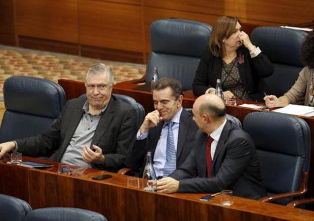El nuevo portavoz socialista, José Manuel Franco Pardo, junto al portavoz adjunto José Quintana Viar