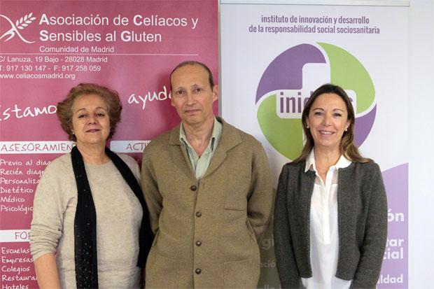Manuela Marqués, Carlos Isasi y Virginia Donado-Mazarrón