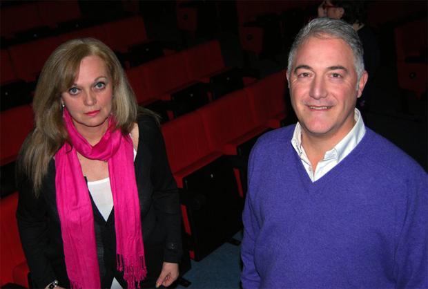 María Luz Álvarez Benegas y Carlos Alt