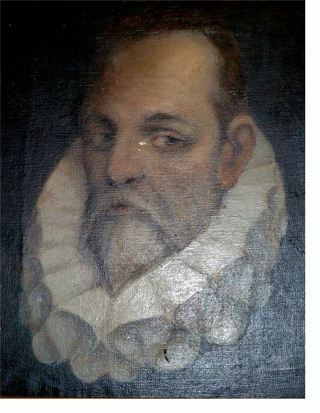 Retrato de Cervantes al óleo a cargo del artista getafense Filiberto Montagud