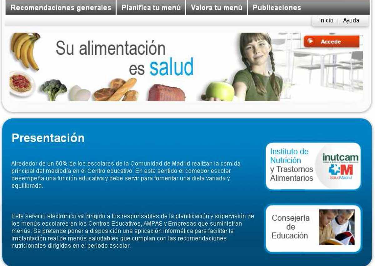 La Comunidad de Madrid asesora a 312 comedores escolares a través de ...